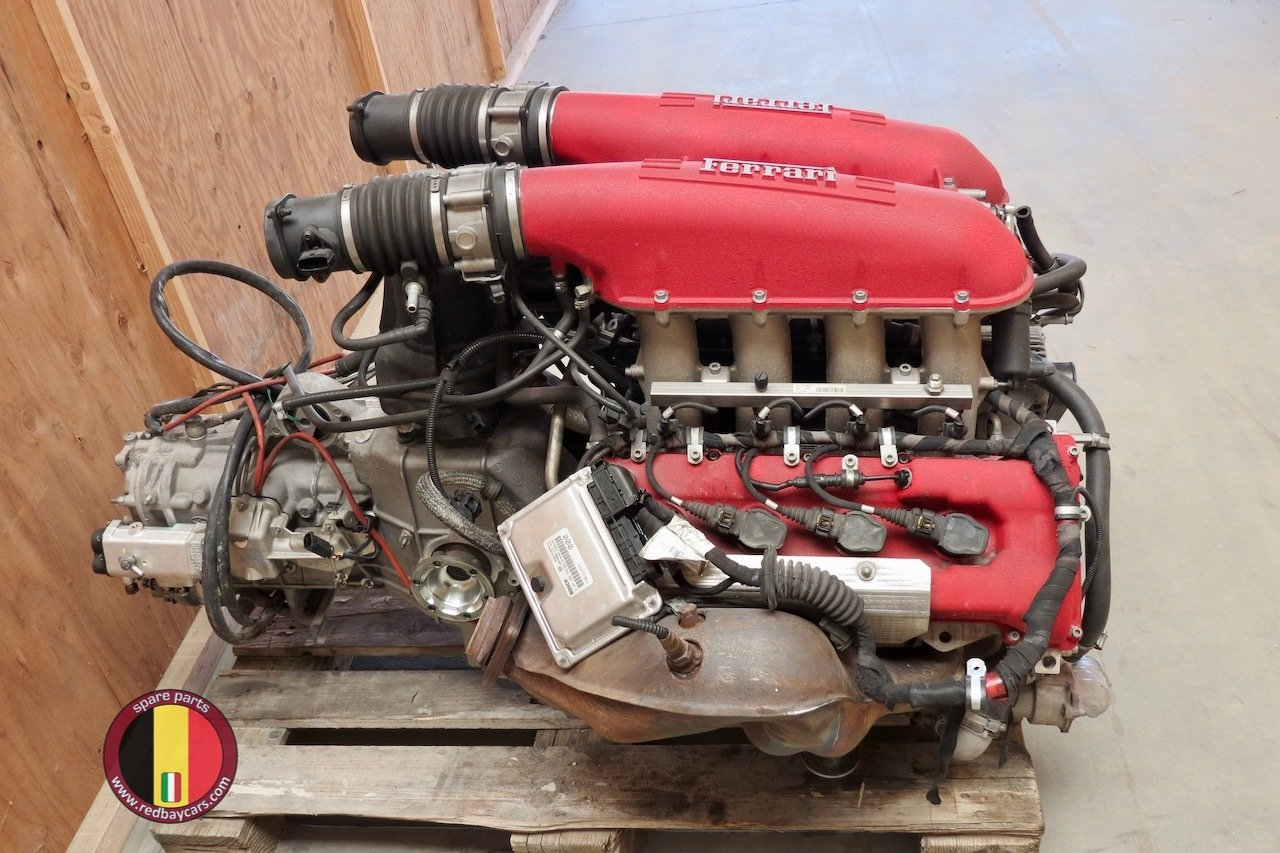 Ferrari_F430_Engine_with_F1_Gearbox_4