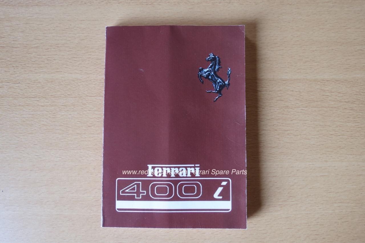 ferrari manuals owner and service manuals for your classic ferrari rh redbaycars com Ferrari 599 Ferrari 328